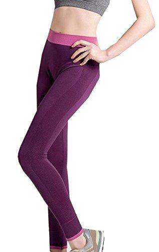 Generic-Women-Waistband-Slim-Capri-Crop-Yoga-Pants-Sport-Pants