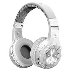 Bluedio H-Turbine Bluetoothヘッドセット ワイヤレスヘッドフォン Line in/out機能 Bluetooth 4.1 (ホワイト)