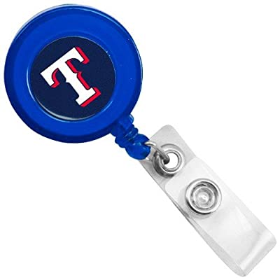 MLB Texas Rangers Royal Blue Badge Reel