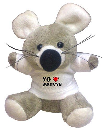 llavero-de-ratoncito-de-peluche-con-amo-mervyn-en-la-camiseta-nombre-de-pila-apellido-apodo