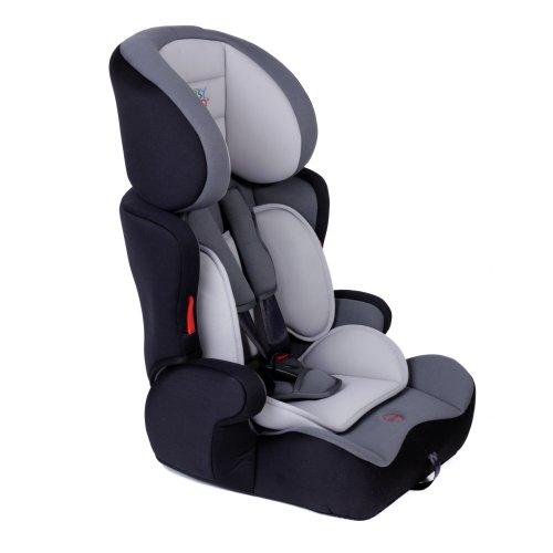 BABY VIVO, Seggiolino da auto per bambini, gruppi 1, 2 e 3, Grigio (Grau)