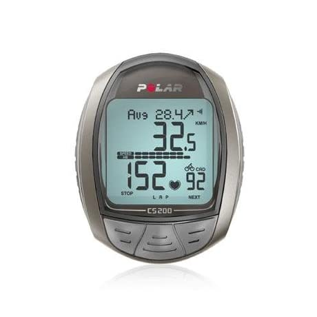 Polar CS200cad Cycling Computer Heart Rate Monitor with Cadence - 90034032