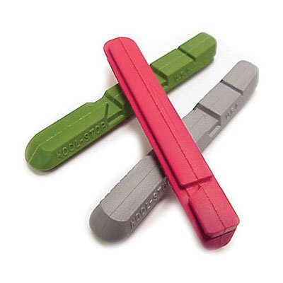 Kool Stop V Bicycle Brake Pad Inserts (Red)
