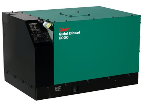 Cummins Onan 6 Hdkav/41934 - Commerical Mobile Generator Set Quiet Diesel Series Qd 6000/7500/8000