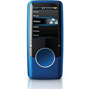 Coby MP620-4GBLU 4 GB Video MP3 Player with FM Radio (Blue)
