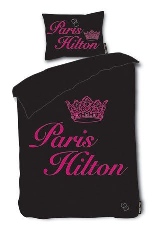 paris-hilton-heiress-black-single-duvet-cover