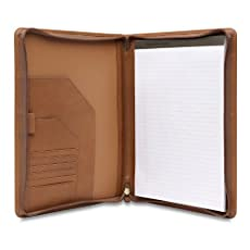Hartmann Belting Leather Executive Zip Folio