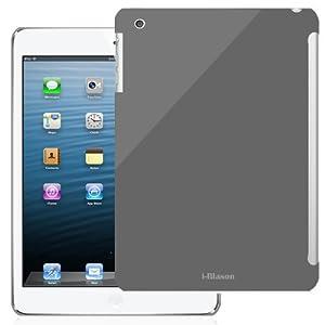 i-BLASON Smart Cover Partner Hard Snap On Slim-Fit Case for Apple iPad Air/iPad 5 (Dark Gray) by I BLASON LLC