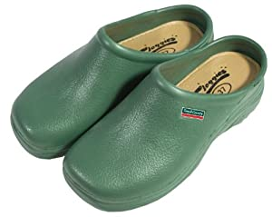 Town & Country Size 11/ EU 45 EVA Cloggies - Green