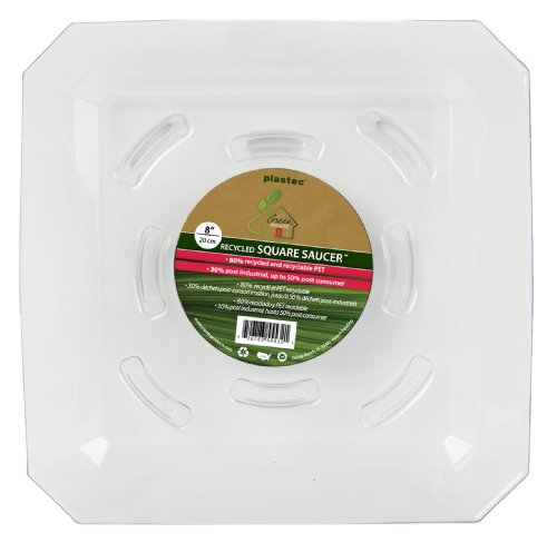 plastec-sqro8-square-recycled-plant-saucer-8-inch