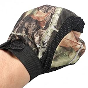 Souked 3 Cut Finger Anti-Slip Camouflage Fishing Hunting Gloves Water Proof from Bheema