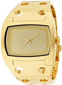 Vestal Destroyer Watch Gold/Gold/Gold/Polish, One Size