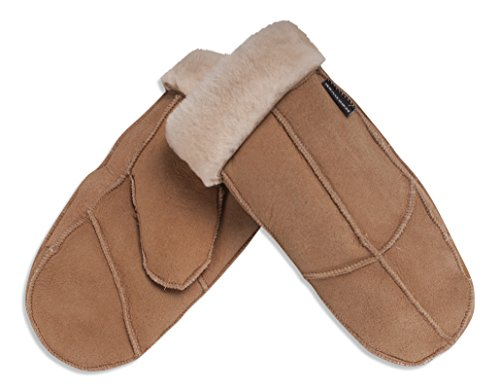 nordvek-100-genuine-womens-sheepskin-mittens-308-100-light-brown