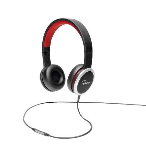 WeSC RZA Street Headphone - Black/Red