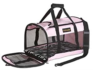 Petmate Soft-Sided Kennel Cab Pet Carrier, Large, Pink by Petmate