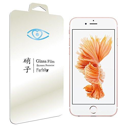 Farfalla Apple iPhone 6 / 6s ブルーライト92%カット [AGC旭硝子使用] [安心交換保証付] [コーティング5時間施工] 強化ガラス液晶保護フィルム 0.3mm (iPhone 6/6s 0.3mm BLC)