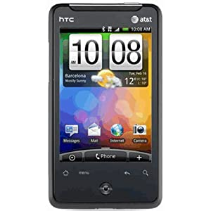 HTC Aria A6366 Unlocked GSM Phone with Android 2.1 OS, Touchscreen, 5MP Camera, GPS, Wi-Fi and Bluetooth - Black