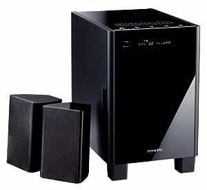 Onkyo HTX-22HDX 2.1 3D-HD-Heimkinosystem (HDMI 1.4 mit 3D Video, Audio-Rückkanal, HD-Audioformate, virtueller Surroundklang) schwarz