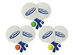 COOP Paddle and Pickle Ball Game Set (Colors May Vary)