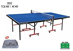 DEUCE 701 IN TABLE TENNIS TABLE - COMPLIMENTARY DEUCE TT TABLE COVER