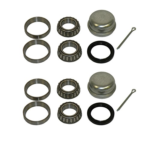 Pair Of Trailer Bearing Repair Kits For 1-1/16 Inch Straight Spindles primary