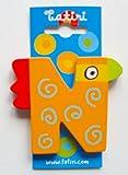 """crazy bird"" Holzbuchstabe ""N"" ca. 7 cm"