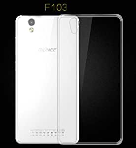 Newtronics Slim Crystal Transparent Bumper Hard Back Cover (not soft tpu) Case For Gionee Fashion F103
