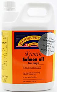 Kronch salmon oil dog cat supplement 88 oz for Fish oil supplements for dogs