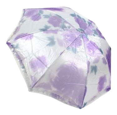 Paradise Silver Printing Border Foldable Umbrella, Anti-UV Sun Umbrella, Parasol Series & Colors Varies