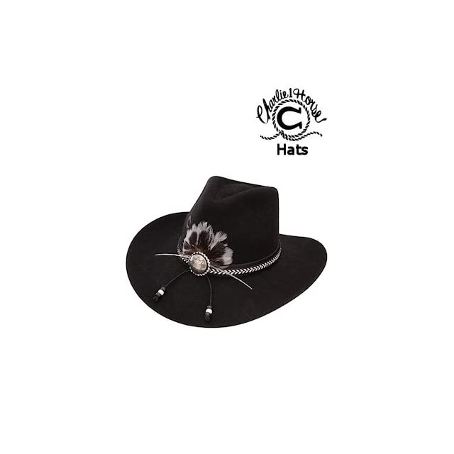 e7057ade907 Charlie 1 Horse Hats THE KING CWKNGX1334 07 Black on PopScreen