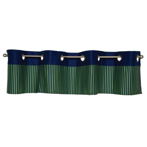 Trend Lab Snuggle Monster Window Valance, Blue