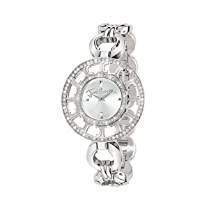 Just Cavalli Ladies Watch R7253176745 In Collection Multilogo, 2 H and S, Silver Dial and Stainless Steel Bracelet
