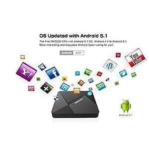 Android TV Box 5.1 Kodi 16.0 D5 Lollipop Rockchip RK3229 Quad Core XBMC Fully Loaded Streaming Media Player 4K 1G 8G Wifi HD 1080P Smart Set Top Mini Pc Stick