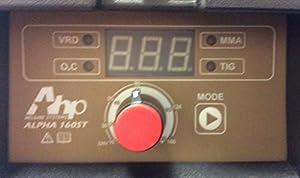 2016 AHP Alpha-160ST 160 Amp Arc / Stick Welder Dual Voltage 110v / 220v by AHP