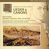 モーツァルト大全集 第23巻:歌曲、カノン全集(全79曲)