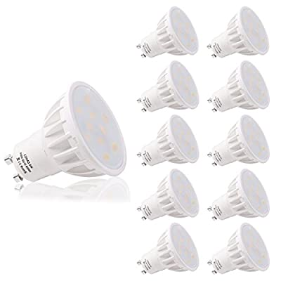 Lohas 1 Pack GU10 6W LED Beautiful Day White Colour 50w Replacement for Halogen bulb with New Chip Technology with 2 Year Warranty