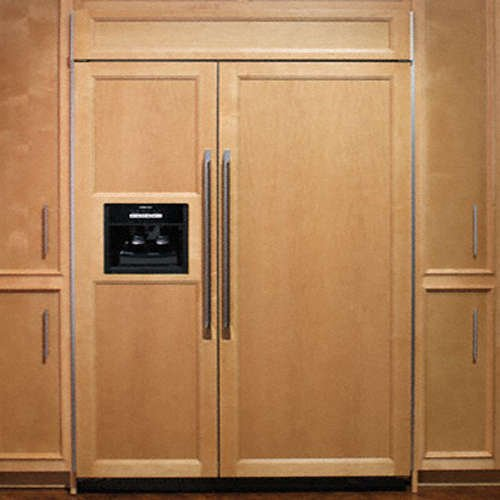 Discount dacor epicure 25 3 cu ft panel ready side for Dacor 42 refrigerator