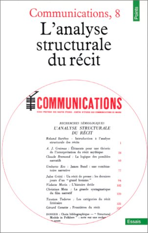 L'Analyse structurale du récit- Communications, 8- points #129 (French Edition)