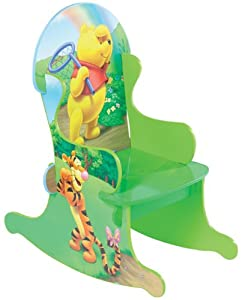Winnie The Pooh 100 Acre Wood Rocking Chair