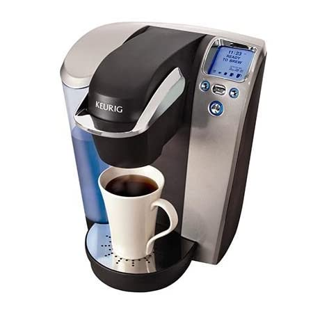 AWESOME Bargain with 60 k cups included! Deliciously simple® in less than 60 seconds! Everyone's taste in coffee is different. You love dark roast while your spouse prefers light roast. Your best friend drinks decaf, your next-door neighbor drinks te...