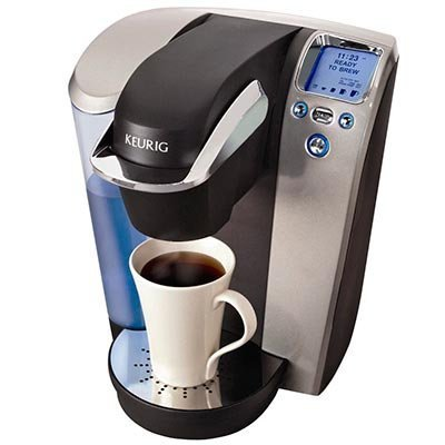 Keurig® Platinum K75 Gourmet Single Cup Coffee & Tea Brewing System Added Value: 60 K-Cups & My K-Cup Reusable Filter