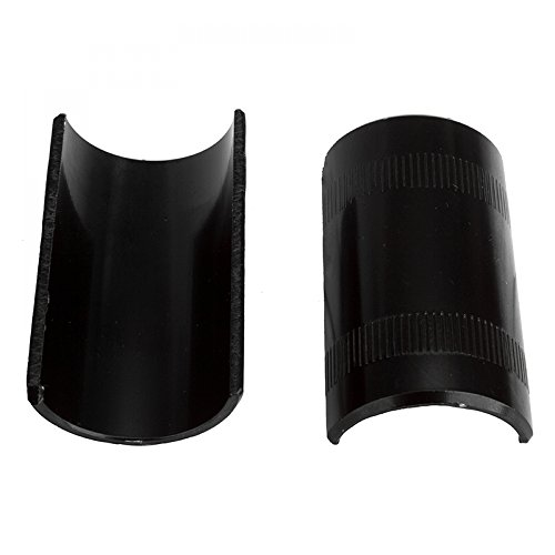 Sunlite Handlebar Shims - Alloy, 22.5-25.4mm, Black