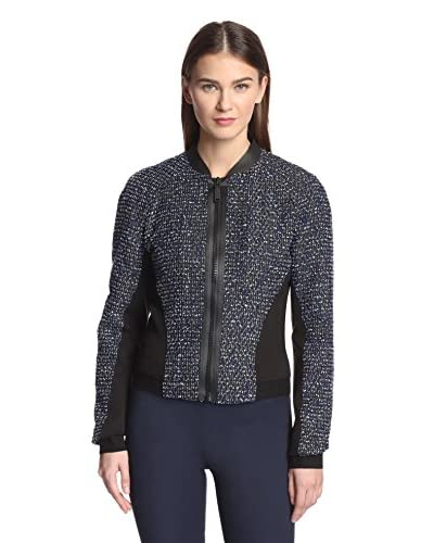 Elie Tahari Women's Sandie Colorblock Jacket