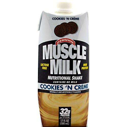 Cytosport Muscle Milk Rtd, Cookies 'N Creme 12/17Oz