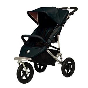 Easywalker Sky Plus - Silla de paseo (3 ruedas), color negro por Easywalker - BebeHogar.com