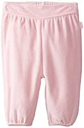 Pumpkin Patch Baby-Girls Infant Velour Yoga Pants, Orchid Pink, 6-12 Months