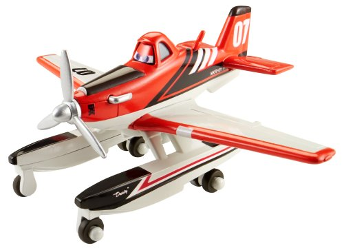 Disney Planes Fire and Rescue Firefighter Dusty with Pontoons 1:55 Scale Die-cast Vehicle (Dusty Crophopper Die Cast compare prices)