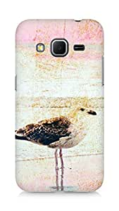 Amez designer printed 3d premium high quality back case cover for Samsung Galaxy Core Prime (Texture s birds spot)