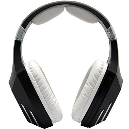 Sades A60 Stereographic Triangle Omg Special Model Usb Sound Insulation Computer Game Video Motion Headset With Flash Led (A60-Black+White)