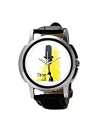 PosterGuy Charlie Chaplin Inspired Men's Wrist Watches